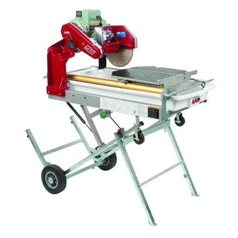 mk mk 101 pro 24 10 in tile saw with stand and