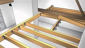ma maison sagrandit em13 creation dune mezzanine en bois With construire ma maison en bois