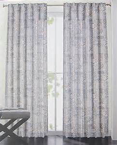 tahari home set of window curtains panels paisley damask