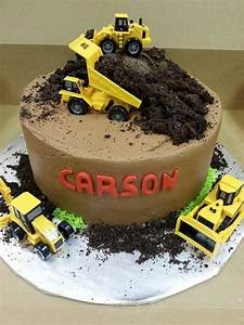 1000+ ideas about Dump Truck Cakes on PinSco Truck Cakes