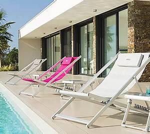 Chaise Longue Balcon : grand choix de chaises longues hesperide pour votre terrasse jardin ~ Teatrodelosmanantiales.com Idées de Décoration