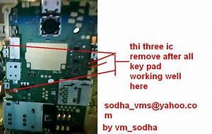 Nokia X2-02 Keypad Short Not Working Solution