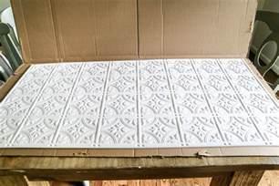 Tin Tiles For Kitchen Backsplash Diy Pressed Tin Kitchen Backsplash Bless 39 Er House