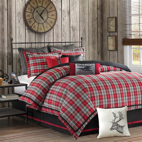 williamsport comforter set by woolrich bedding and
