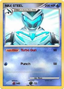 Pokémon MAX STEEL 14 14 - Turbo Gun - My Pokemon Card
