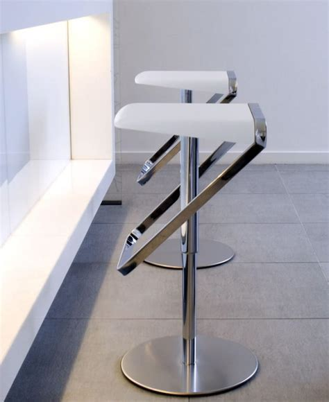 White Modern Bar Stools ? Colour Story Design : Awesome