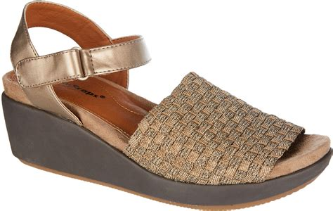 Wedge Shoes : Bare Traps Womens Erker Wedge Sandals