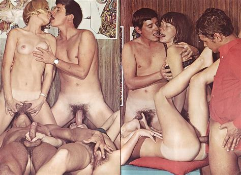 Vintage Group Sex Set Sex Study 14 Pics