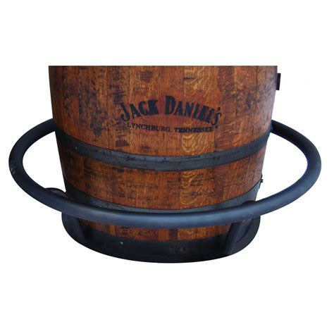 Barrel Pub Table Footrest   Amish Crafted Furniture