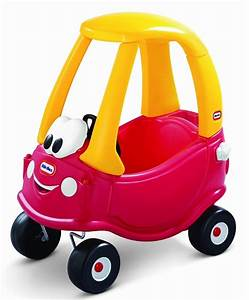 Voiture Porteur Bébé : voiture cozy coup rouge little tikes ~ Teatrodelosmanantiales.com Idées de Décoration