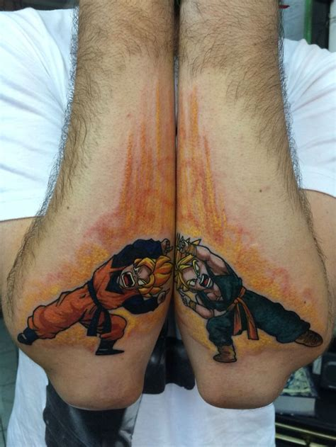 dragon ball tattoo  suliee pepper dragonball fusion