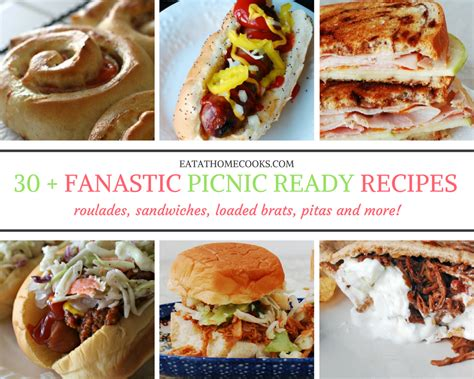 easy cuisine 30 easy recipes for delicious picnic food eat at home