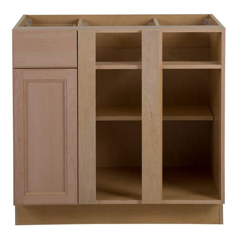 Home Depot Unfinished Corner Base Cabinet by Hton Bay Assembled 36x24 5x34 5 In Easthaven Blind