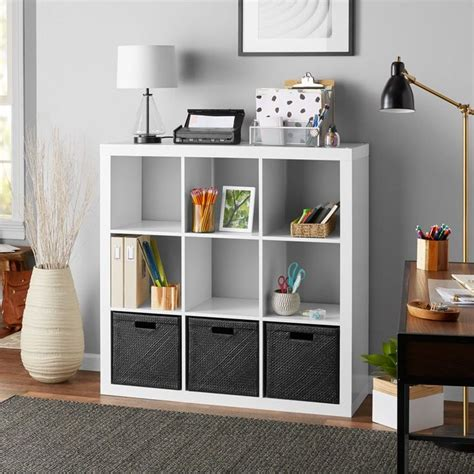 Better homes and gardens 25 cube organizer. Better Homes & Gardens 9-Cube Storage Organizer, White ...