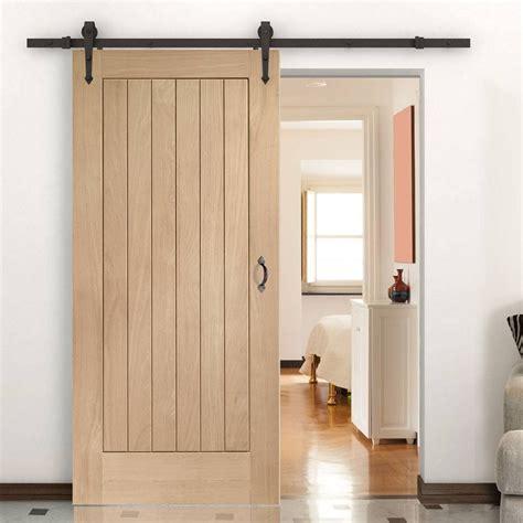 single sliding door track suffolk oak door
