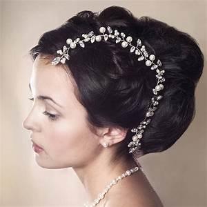 Handmade Bryony Wedding Hair Vine By Rosie Willett Designs