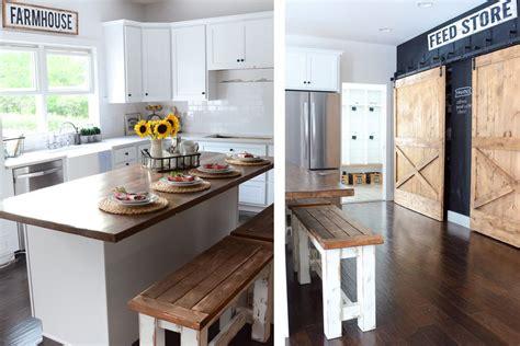 farmhouse kitchen cabinets diy gorgeous modern farmhouse kitchens