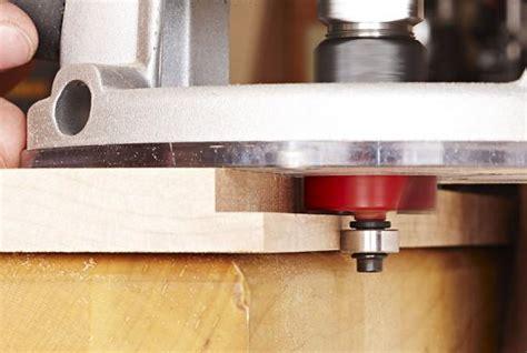 cut perfect rabbets   router bit wood magazine