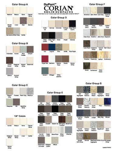 Corian Color Corian Colors Pdf Grifform