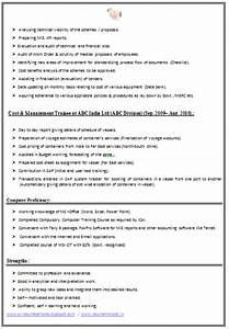 Relevant Experience Resume Samples Over 10000 Cv And Resume Samples With Free Download Ca