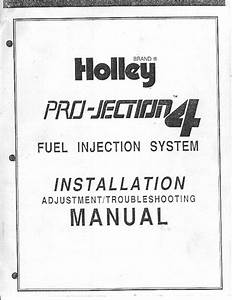 Holley Projection Conversion On A  Chrysler  Imperial