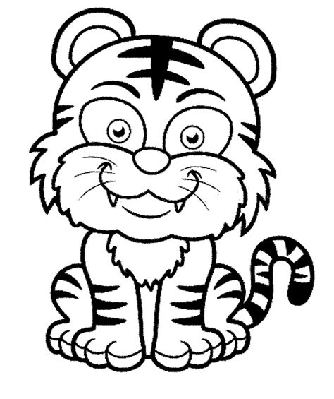 7200 Koleksi Gambar Mewarnai Hewan Harimau Gratis Terbaik