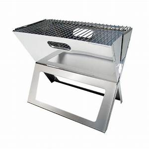 Mini Barbecue Electrique : mini barbecue acier charbon de bois pliant tom ~ Dallasstarsshop.com Idées de Décoration