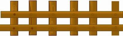Fence Clipart Farm Barn Clip Fences Vector