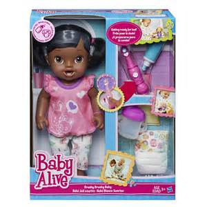 Baby Doll Beds Walmart by Amazon Com Baby Alive Brushy Brushy Baby Doll African