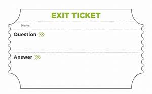 3 simple exit tickets to boost student comprehension the With classroom exit ticket template