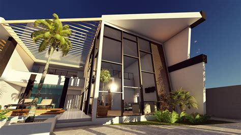 house designs lumion 6 3d render sea house design
