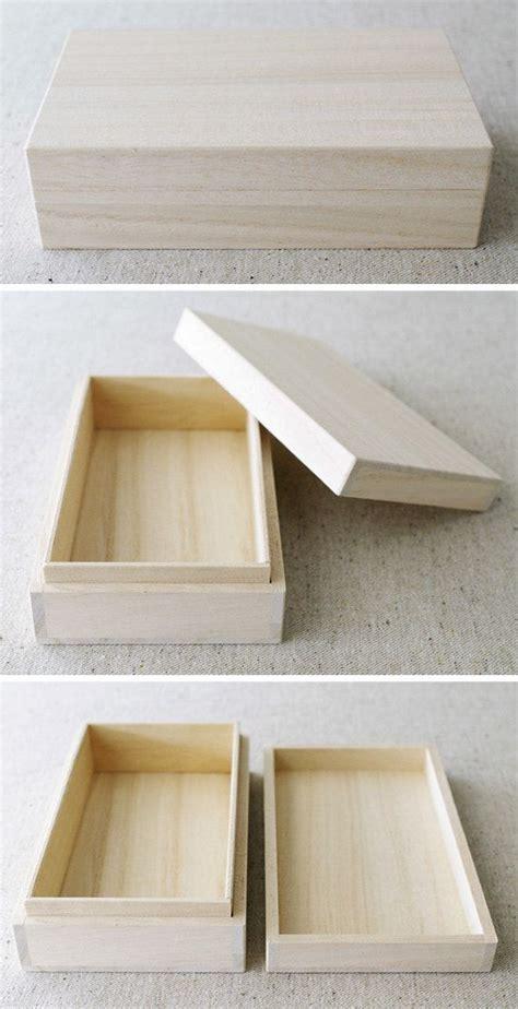 wooden gift box japanese style  type  karaku  etsy