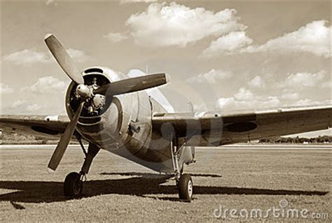 vintage military aircraft royalty  stock images