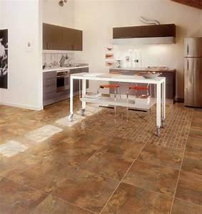 Porcelain Floor Tile in Kitchen - Modern - Kitchen - other