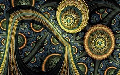 Fractal Abstract 3d Background Artwork Desktop Wallpapers