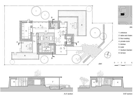 yamazaki kentaro design workshop builds island restaurant