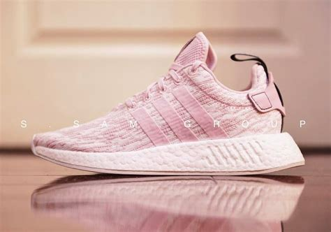 all light pink adidas adidas is releasing an all pink nmd r2 the source