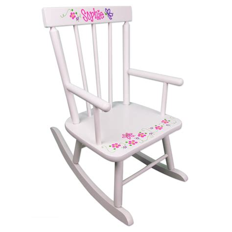 rocking chair design pink rocking chair classic white