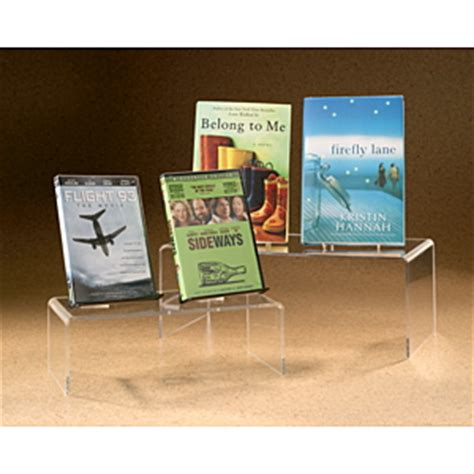 table top display risers display risers set in different size to display small
