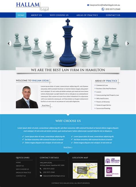 firm web designer serious masculine firm web design for a company by