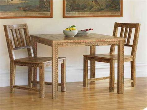 bloombety small kitchen table sets with wooden material