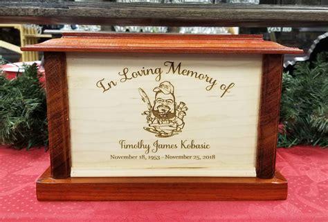 wooden urn custom wood urn cremation box keepsake box