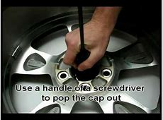How to install wheel center caps YouTube