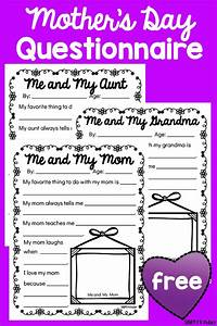 Mother's Day Questionnaires - Simply Kinder