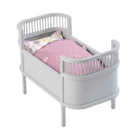 Cake Stands On Sale by Leo Amp Bella Smallstuff Rosaline Wooden Doll Bed Cot Grey