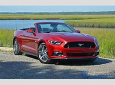 2015 Ford Mustang GT Convertible Review & Test Drive