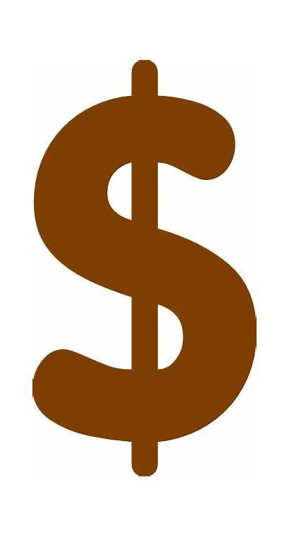 Sign Dollar Clip Clker Clipart Domain