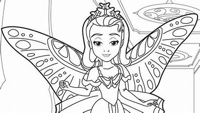 Coloring Pages Princess Sofia Disney Super Printable