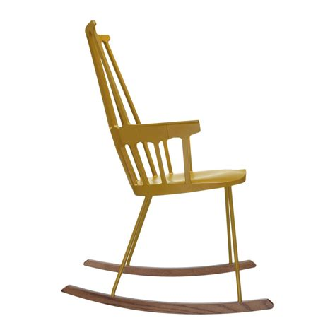 buy kartell comback rocking chair yellow amara