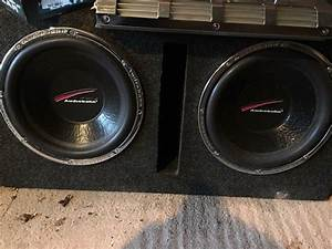 Audiobahn Aw1251t 12 U0026quot  Inch Old School Subwoofers Twin Double With Enclosure Custom Build